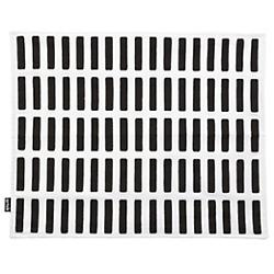 Siena Placemats (White/Black) - OPEN BOX RETURN