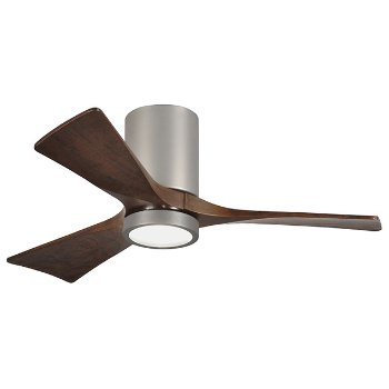 Irene 3 blade led hugger ceiling fan by atlas fan company at lumens irene 3 blade led hugger ceiling fan aloadofball Gallery