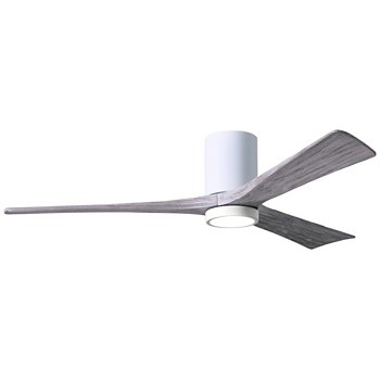 Shown in Gloss White Fan Body finish, Barn Wood Blade finish, 60 size