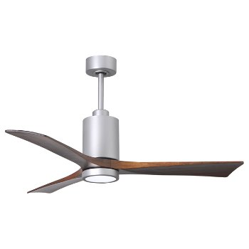 Shown in Brushed Nickel finish with light cap, 42 inch, lit
