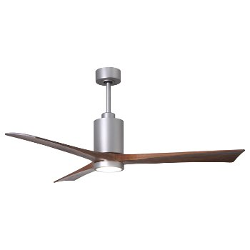 Shown in Polished Chrome finish with light cap, 52 inch