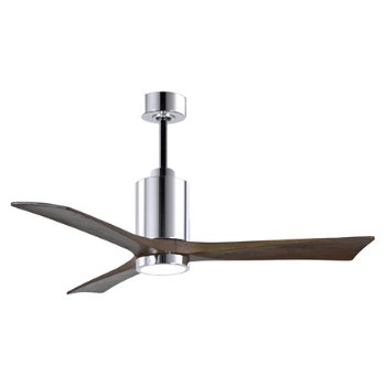 Shown in Brushed Nickel finish without light cap, 42 inch, lit