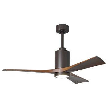 Shown in Textured Bronze finish without light cap, 42 inch