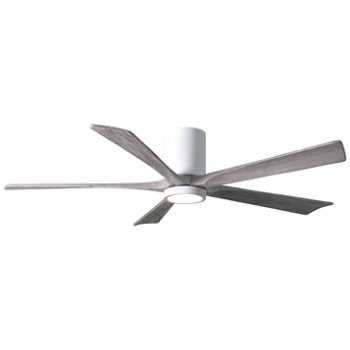Shown in Gloss White finish with Bran blades / 60 inch with light cap