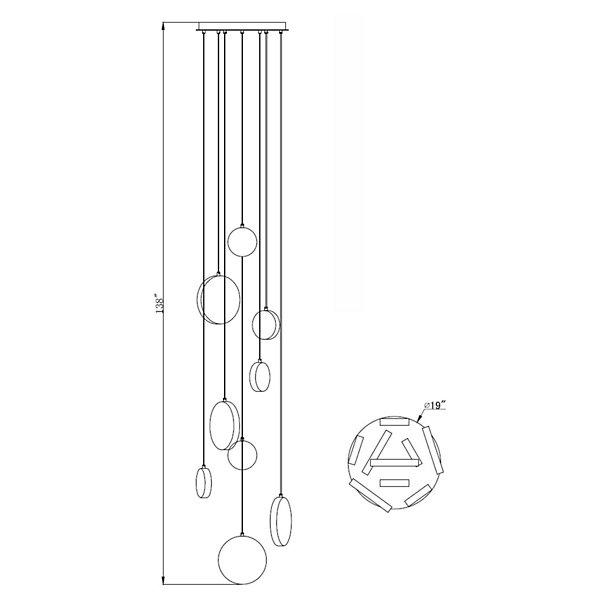 Bottega Multi-Light Pendant