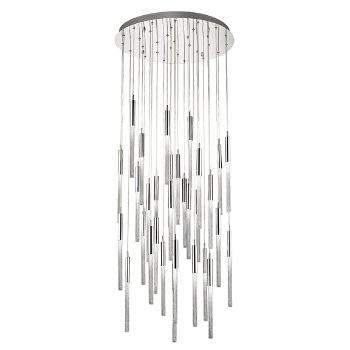Shown in Polished Nickel finish, 31 Light