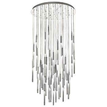 Shown in Polished Nickel finish, 51 Light
