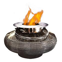 Mercury Tabletop Lantern Fireplace