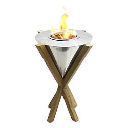 Southampton Teak Indoor/Outdoor Tabletop Fireplace