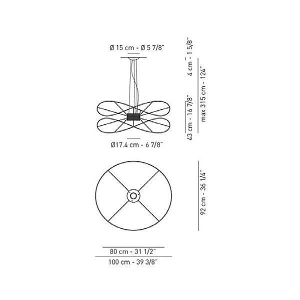 Hoops 2 LED Pendant