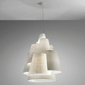 Shown in Light Patterns/White finish, Large size
