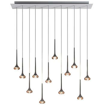 Fairy LED Multi-Light Linear Suspension