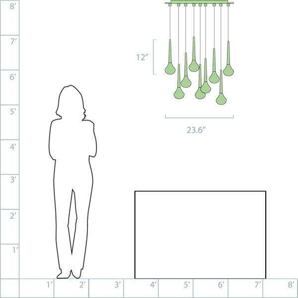 Fairy LED Multi-Light Pendant