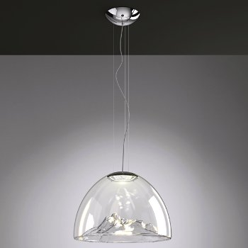 Shown lit in Crystal Chrome