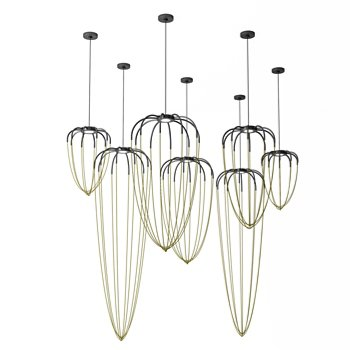 Alysoid LED Pendant collection
