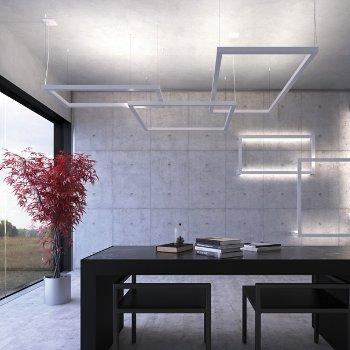 Framework LED Linear Suspension, in use