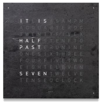 Shown in Black Slate color, Classic size, English Language, in use
