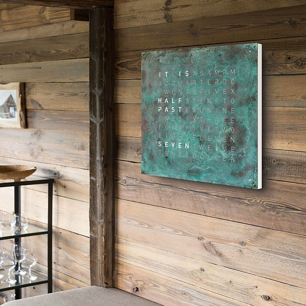 Creator's Edition Vintage Copper Wall Clock