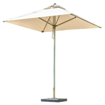 8.5' Square Sirocco Side Wind Cantilever Umbrella