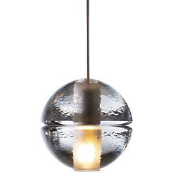 14.1 Single Pendant (4.5 in. Nickel Canopy/LED) - OPEN BOX