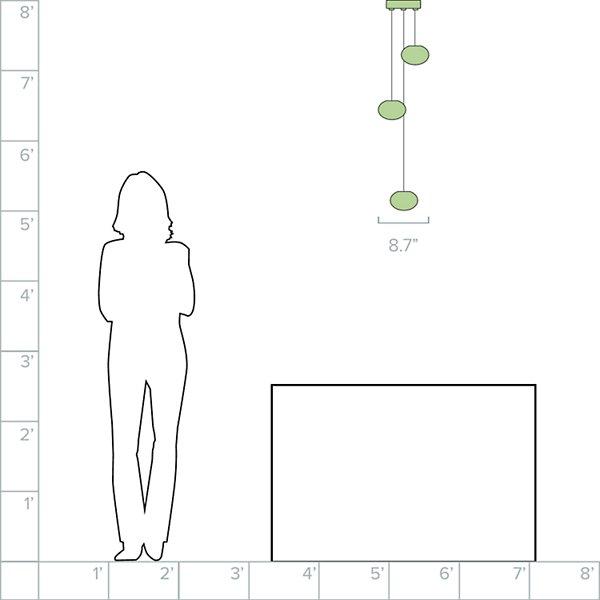 84.3 Multi-Light Pendant