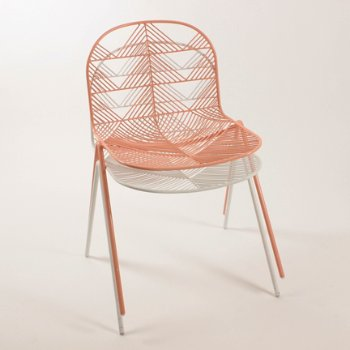 Betty Stacking Chair, in use