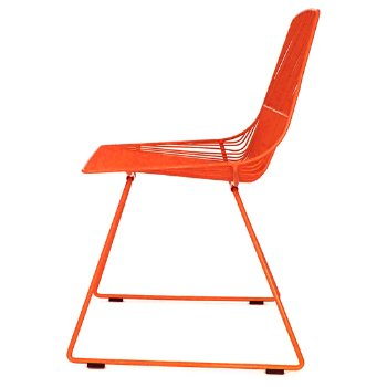 Shown in Orange finish, side view