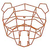 Polar Bear Trophy Head