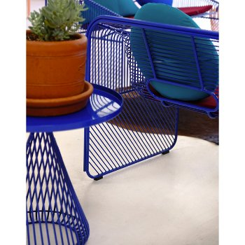Shown in Electric Blue finish, in use