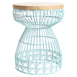 Sweet Stool (Aqua) - OPEN BOX RETURN