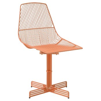 Shown in Peachy Pink finish, alternate view