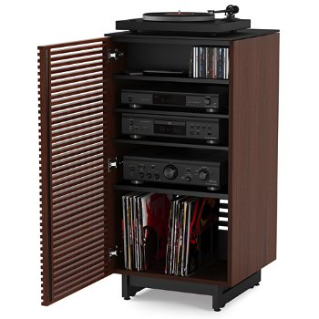 Shown in Chocolate Stained Walnut