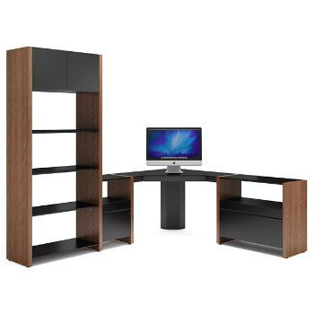 Semblance 4-Section with Corner Desk, 5464-CS, High/Low Office