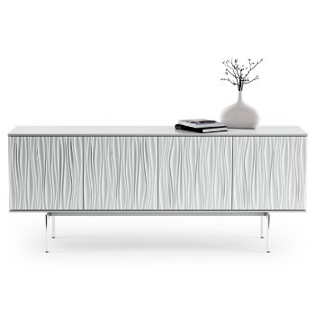 Shown in Smooth Satin White finish, Large size