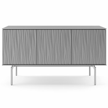 Shown in Fog Grey finish, Medium size