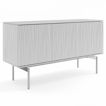 Shown in Smooth Satin White finish, Medium size