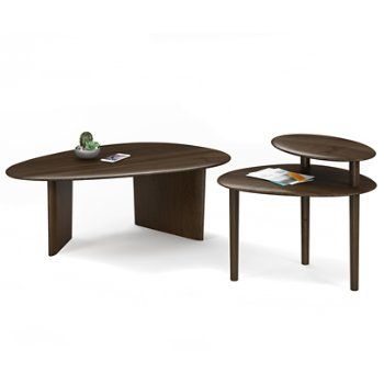 Orlo Coffee Table with Orlo 1956 End Table