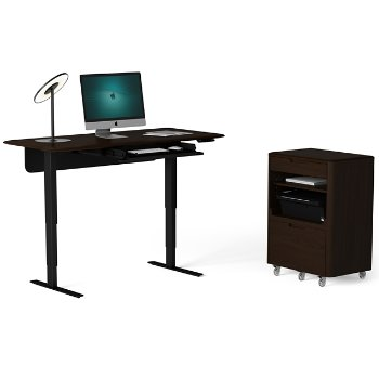 Sola Lift Desk with Sola Multifunction Cabinet