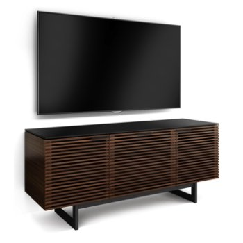 Shown in Chocolate Stained Walnut finish, Triple-Wide / in use