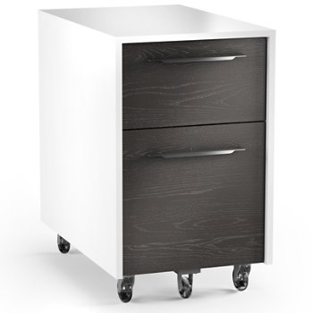 Shown in Satin White/Charcoal finish