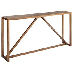 Strut Wood Console Table