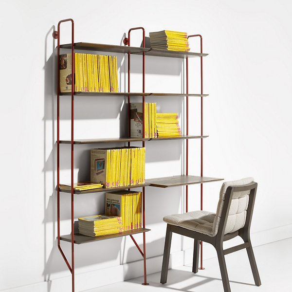Hitch Add-On Bookcase and Desk