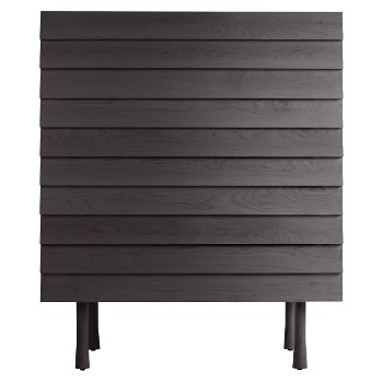 Lap Tall Dresser - Black