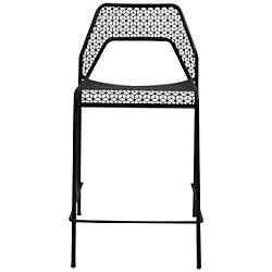 Hot Mesh Counterstool (Black) - OPEN BOX RETURN