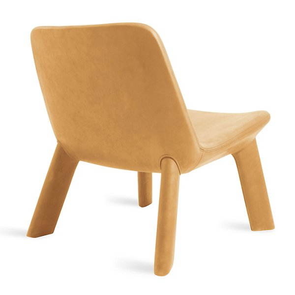 Neat Leather Lounge Chair