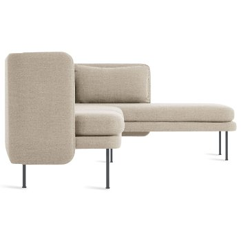 Shown in Tait Stone color, Chaise on Left Position