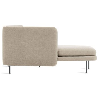 Shown in Tait Stone color, Chaise on Right Position