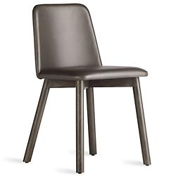 Chip Leather Dining Chair (Smoke/Grey-Brown)-OPEN BOX RETURN