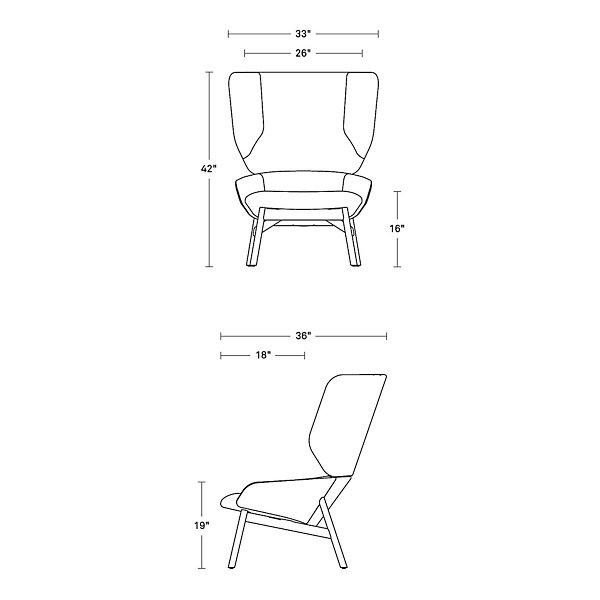 Heads Up Lounge Chair
