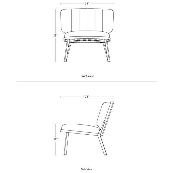 Low Fade Outdoor Lounge Chair